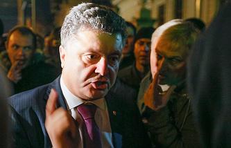 Ukrainian presidential candidate Petro Poroshenko