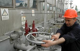Underground gas storage unit in Ukraine (archive)