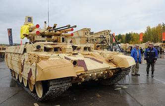 Terminator tank support fighting vehicle