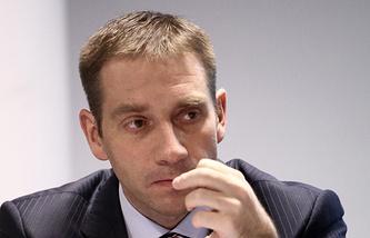 Russia's Deputy Economic Development Minister Sergei Belyakov