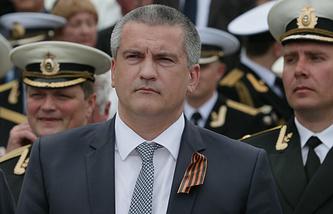 Crimea's acting Prime Minister Sergei Aksyonov