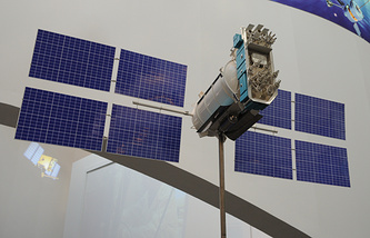 Model of the Russian Glonass-M satellite (archive)