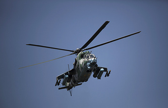 Ukrainian army helicopter (archive)