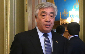 Kazakhstan's Foreign Minister Yerlan Idrisov