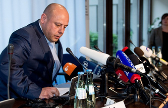 Ukrainian parliament-appointed Minister of Energy and Coal Industry Yuriy Prodan
