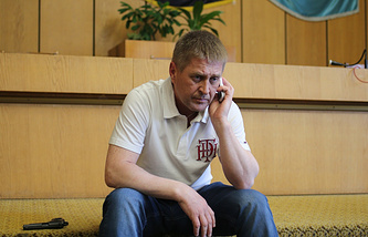 Sloviansk self-proclaimed mayor Vyacheslav Ponomaryov