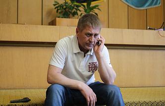 Sloviansk self-proclaimed mayor Vyacheslav Ponomaryov