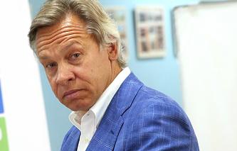 State Duma's Foreign Affairs Committee head Alexei Pushkov