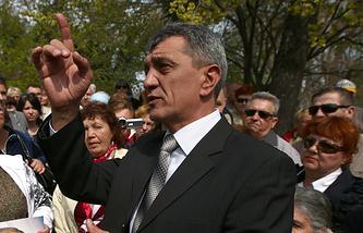 Acting Sevastopol governor Sergei Menyailo