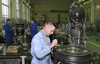 Klimov plant in St. Petersburg (archive)