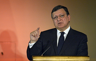 President of the European Commission Jose Manuel Barroso