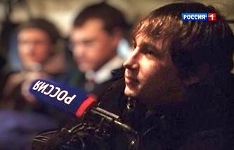 Cameraman Anton Voloshin