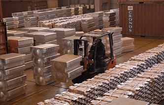 RUSAL aluminium plant (archive)