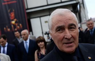 South Ossetia's President Leonid Tibilov