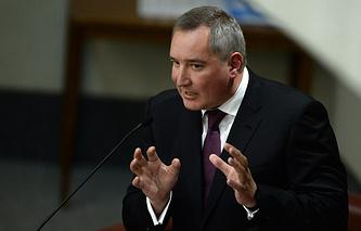 Russia's Deputy Prime Minister Dmitry Rogozin