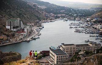 A view of Crimea's Balaklava