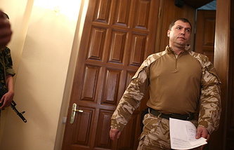 Head of the Luhansk People's Republic Valery Bolotov