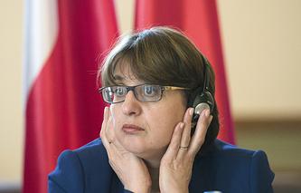 Georgian Foreign Minister Maia Panjikidze
