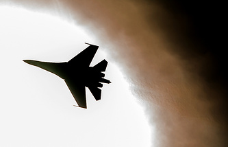 Su-27 fighter jet (archive)
