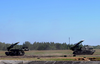 Buk-M1 medium-range anti-aircraft missile systems (archive)