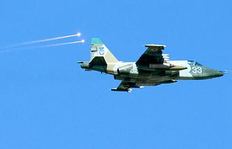 Ukrainian attack plane (archive)