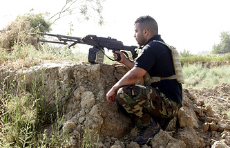 Iraqi Shiite militia fighter