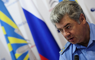 Commander-in-Chief of the Russian Air Force Lieutenant General Viktor Bondarev