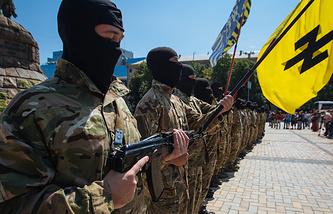 Ukrainian army 'Azov' battalion
