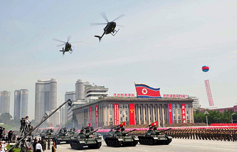 Military parade in Pyongyang (archive)