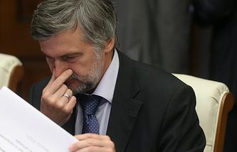 Vnesheconombank Deputy Governor Andrei Klepach