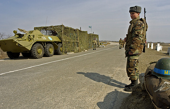 Russian peacekeepers in Transdniestria