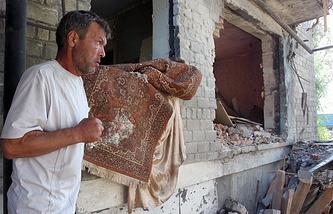 Situation in Horlivka, Donetsk region