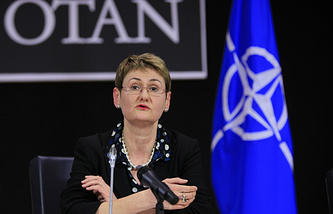 NATO Spokesperson Oana Lungescu