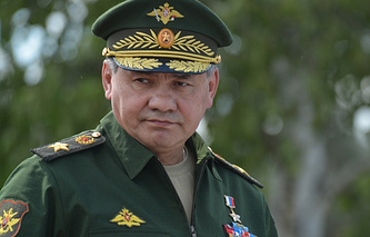 Russia's Defence Minister Sergei Shoigu