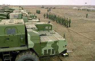Kapustin Yar testing range in Russia