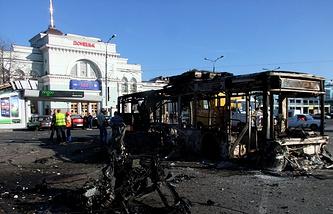 Ukraine. Donetsk. August 30