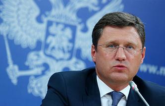 Russian Energy Minister Alexander Novak
