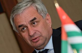 Abkhazia's President-elect Raul Khadzhimba
