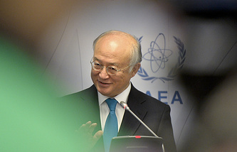 Director general of the International Atomic Energy Agency Yukiya Amano