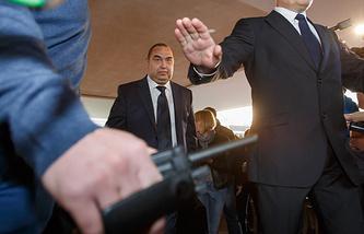 Leader of the self-prcalimed Luhansk republic Igor Plotnitsky
