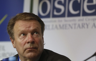 President of the OSCE Parliamentary Assembly Ilkka Kanerva