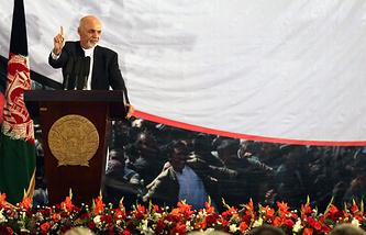 Afghanistan's President-elect Ashraf Ghani Ahmadzai