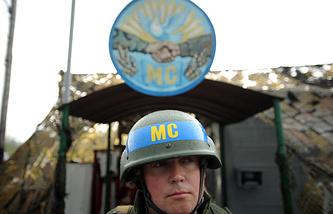 A peacekeeper in Transdniestria
