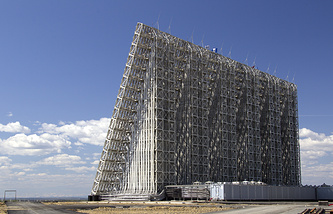 Voronezh-M radar station