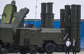 S-400 Triumf air defense missile system