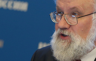 Russia's CEC chairman Vladimir Churov