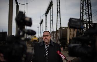 Luhansk People's Republic Igor Plotnitsky