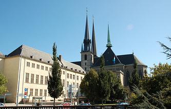 Place de la Constitution in Luxembourg