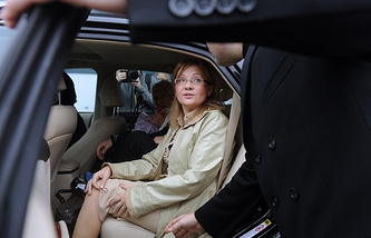 Chief of movement Russian Mothers Irina Bergset