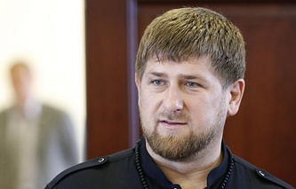 Chechnya's head Ramzan Kadyrov
